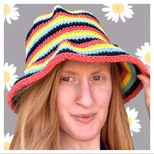 Accessories - Vintage Colorful Summer Hat